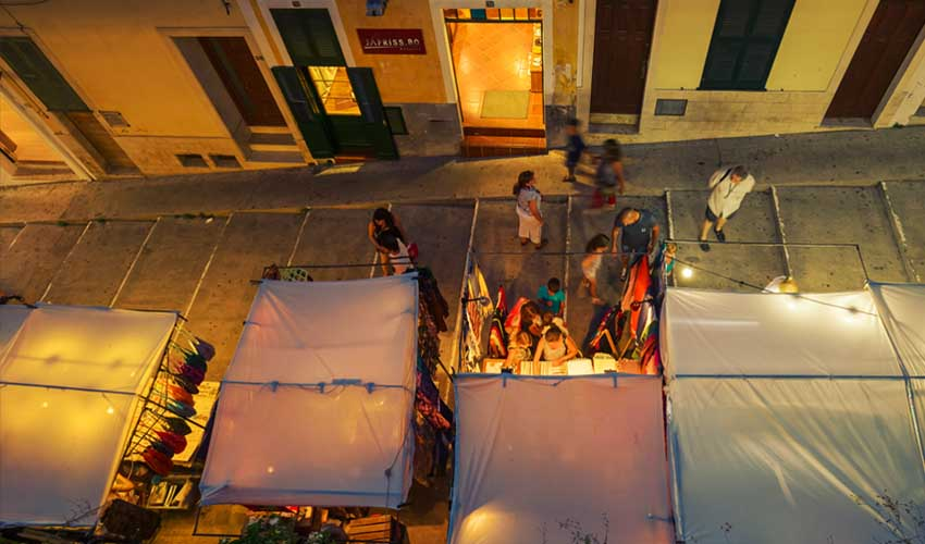 minorque pas manquer marchés de nuit de ciutadella