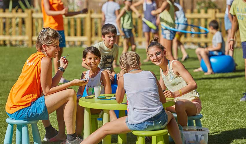 campings tohapi club enfants