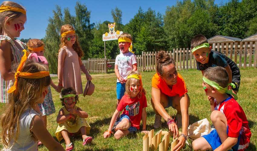 campings tohapi vacances a la montagne domaine des tours club enfant