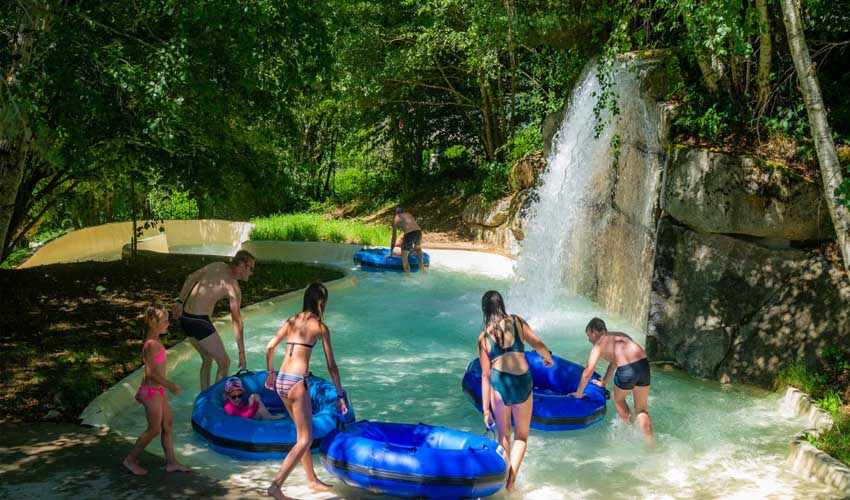 campings tohapi vacances a la montagne domaine des tours et sa riviere