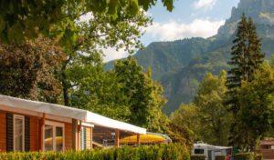 Campings Tohapi à la montagne dans la nature, hébergement en mobil-home