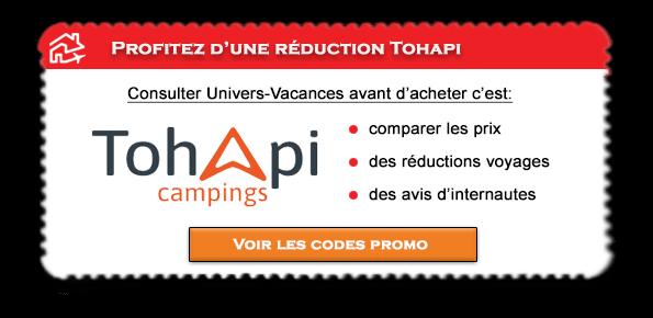 Code promotion Tohapi