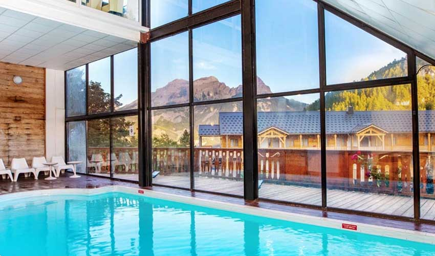 sowell appart'hotel all inclusive piscine