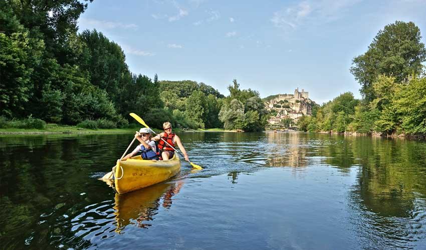 top sejours camping club tohapi domaine soleil plage kayak sur la dordogne dans le perigord