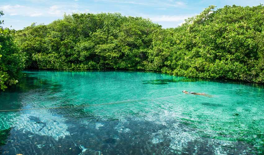 top sejours club bravo turquesa mexique cenotes yucatan