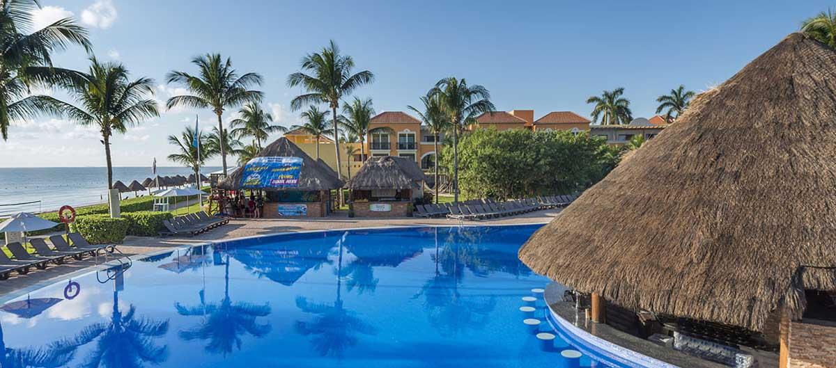 top sejours club bravo turquesa mexique vue sur piscine
