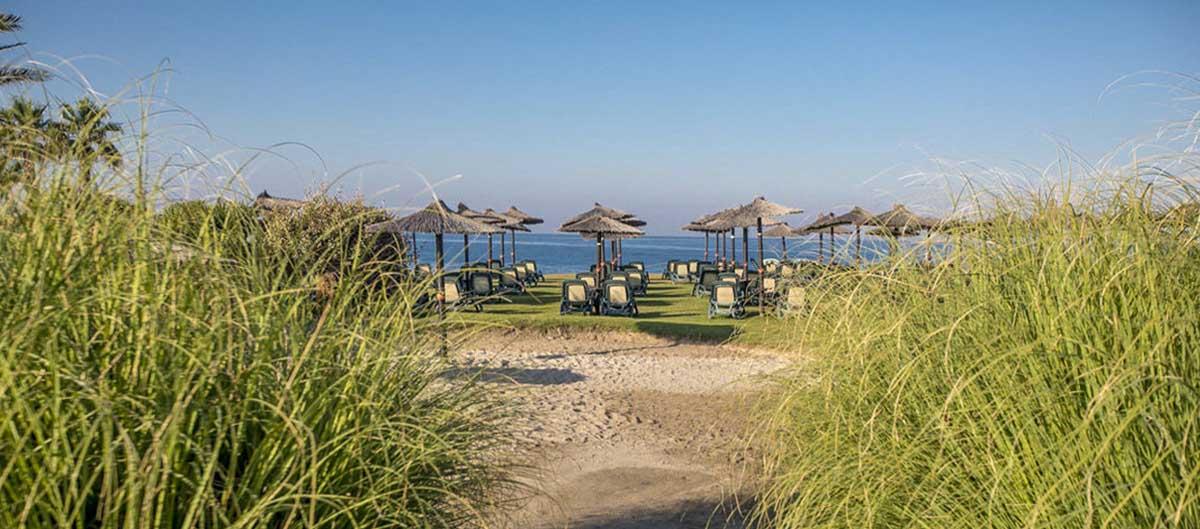 top sejours Playa Granada andalousie vue sur transat et plage