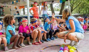 Profitez du club enfants et des animations dans les campings Homair