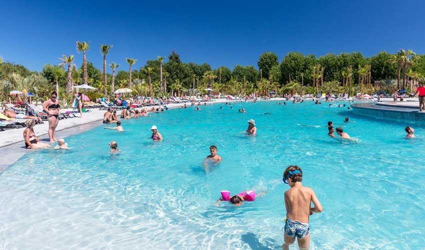 homair campings 5* et sport camping les prairies de la mer piscine