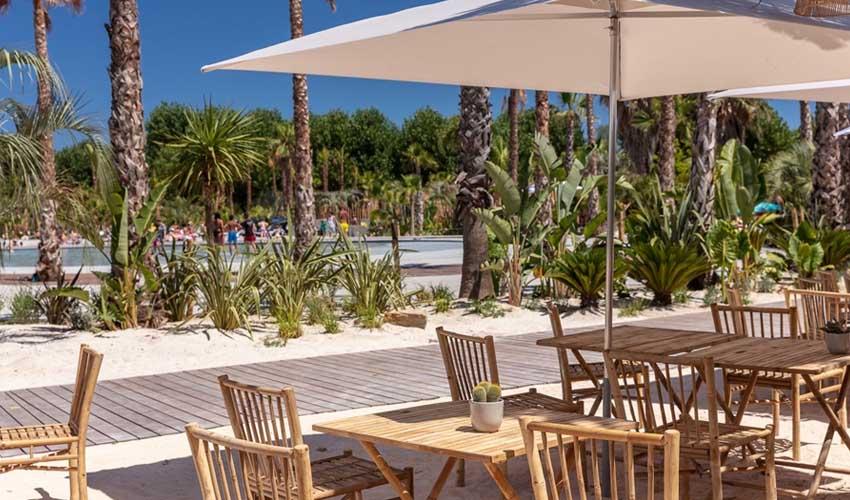 homair camping 5* et sport services et restaurant
