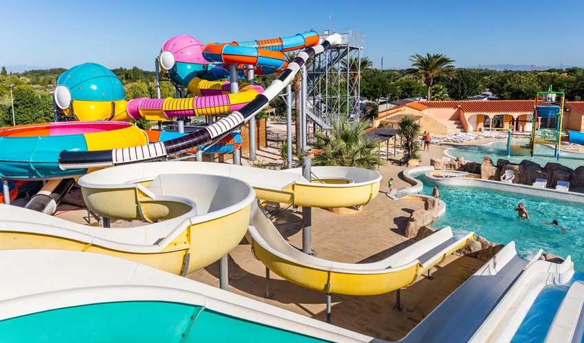 homair camping 5 etoiles et sport parc aquatique et equipement haut de gamme camping le soleil de la mediterranee