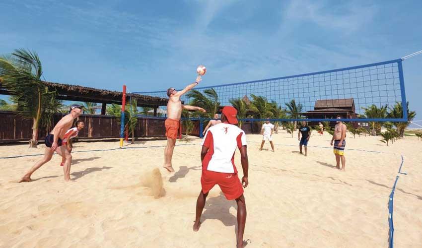 Sport dans les clubs Héliades : Beach Volley