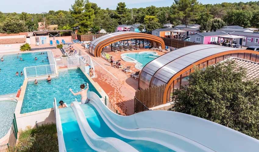 homair campings piscine couverte les lacs du verdon parc aquatique