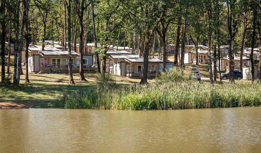 homair mobil home premium camping saint avit loisirs peche sur l'etang activites