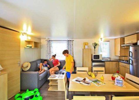 Les mobil-homes Premium en camping Homair