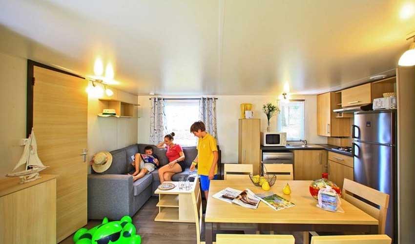 homair mobil home camping saint avit villa premium sejour