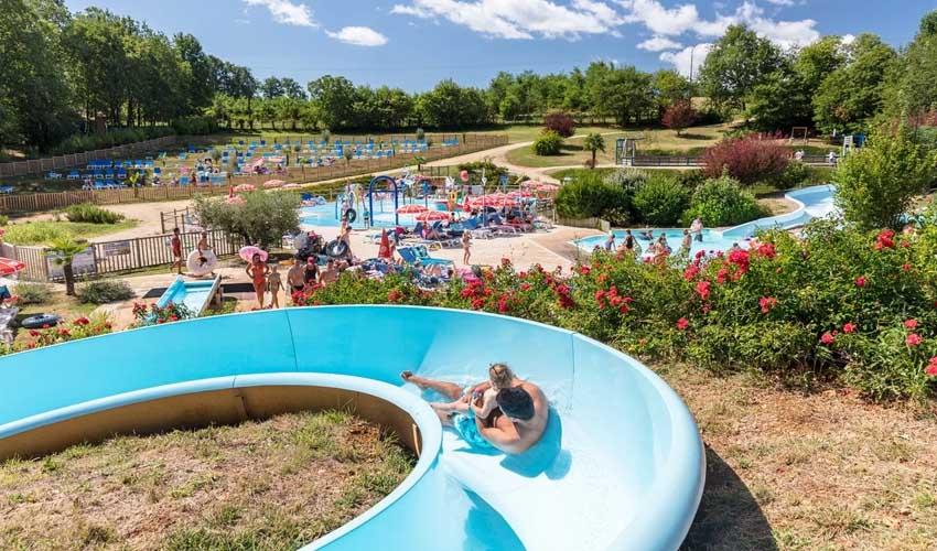 homair mobil home premium camping saint avit parc aquatique et toboggans