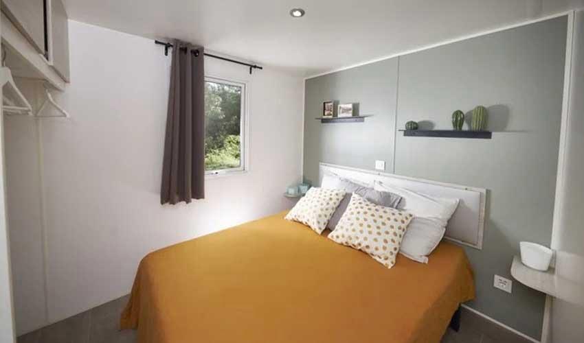 homair mobil home premium confort literie chambre villa premium