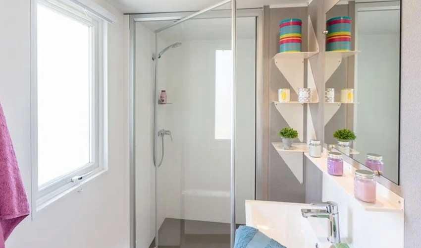 homair mobil home premium salle de bain villa premium
