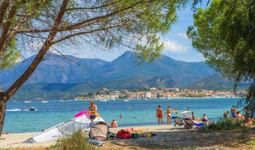 homair vacances P&S corse camping kalliste plage et activites nautiques
