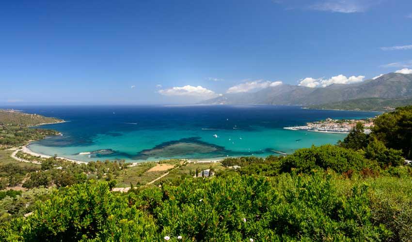 homair vacances P&S corse saint florent avec vue sur mer