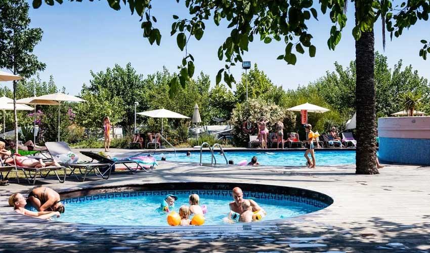 homair vacances P&S costa brava camping el pinar piscine