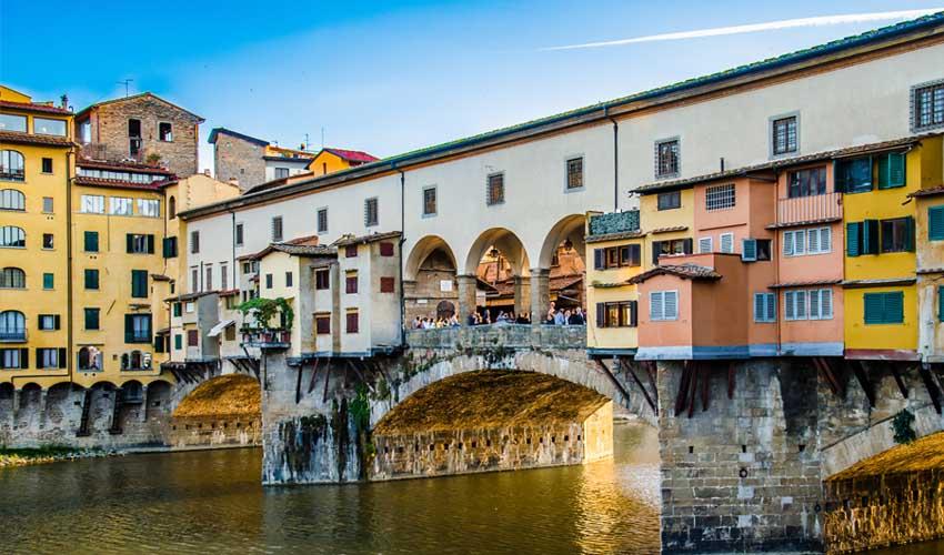 homair visiter italie en famille ponte vecchio florence
