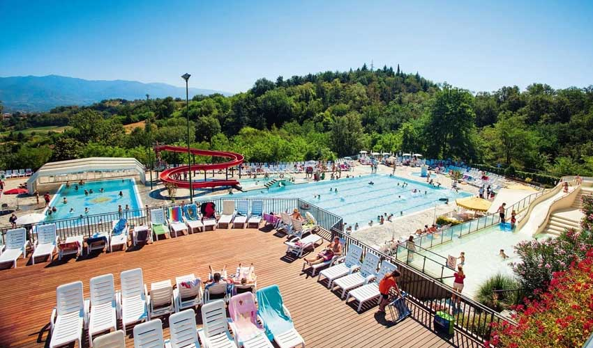 homair visiter italie en famille camping Norcenni Girasole Club