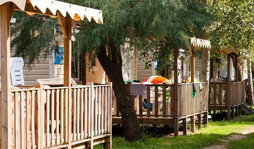 homair visiter italie en famille mobil home avec terrasses