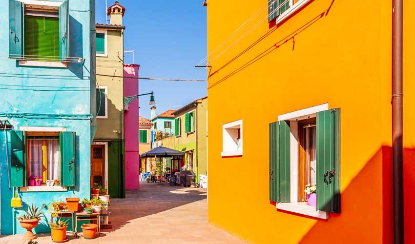 homair visiter italie en famille vacances venise ile de burano