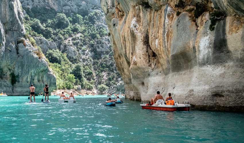 homair visiter provence camping les lacs du verdon activites dans les gorges du verdon