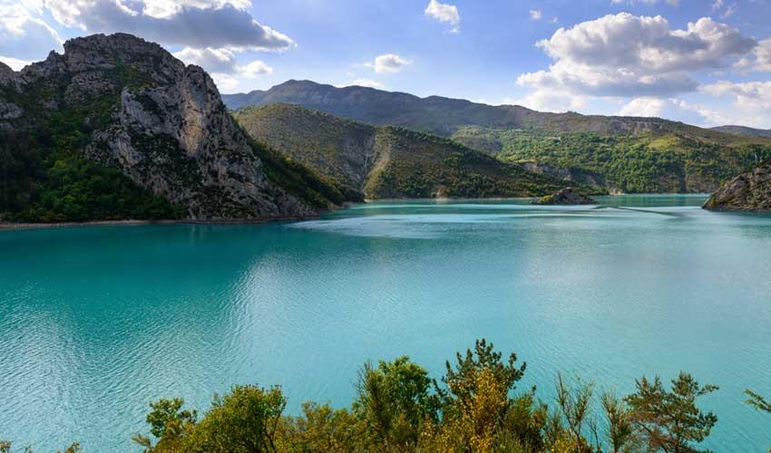 homair visiter la provence camping les lacs du verdon lac de castillon