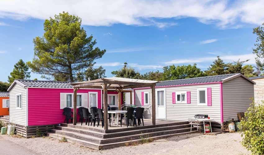 homair visiter provence camping les lacs du verdon mobil home famille nombreuse