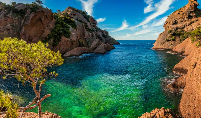 homair visiter provence camping baie des anges parc ational des calanques figuerolles