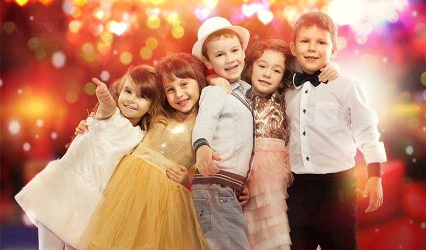 Soirée des petits dans le club enfant Lookéa