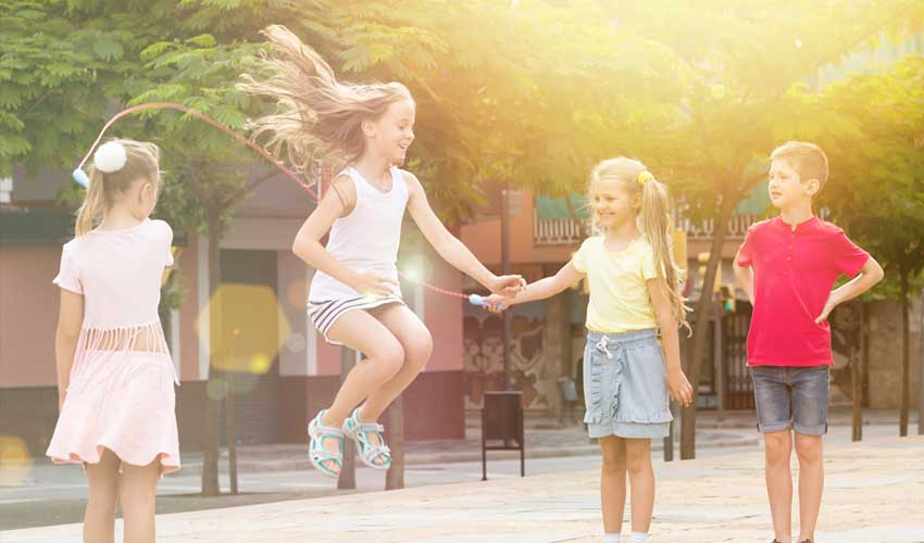 Activités dans les clubs enfants en résidence club Odalys