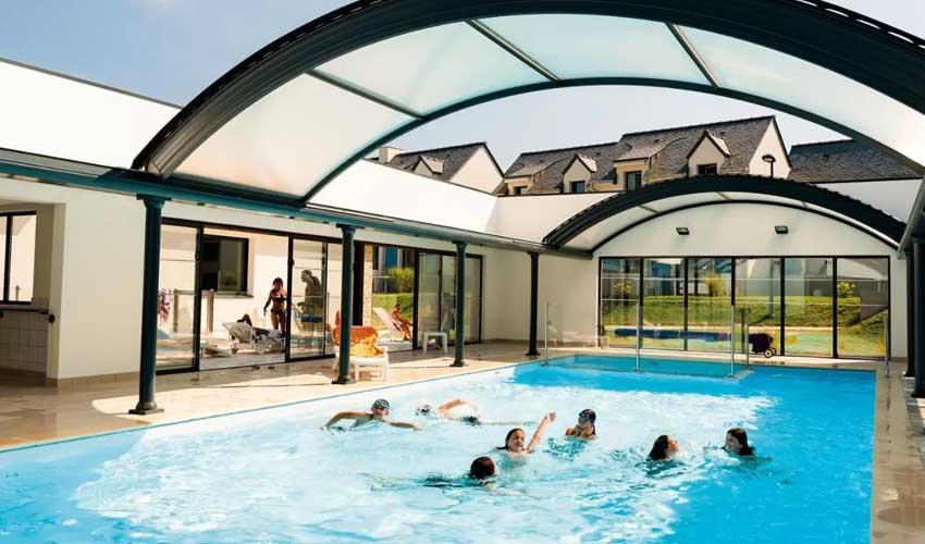 vacances golf residences lagrange piscine chauffee du domaine de val queven