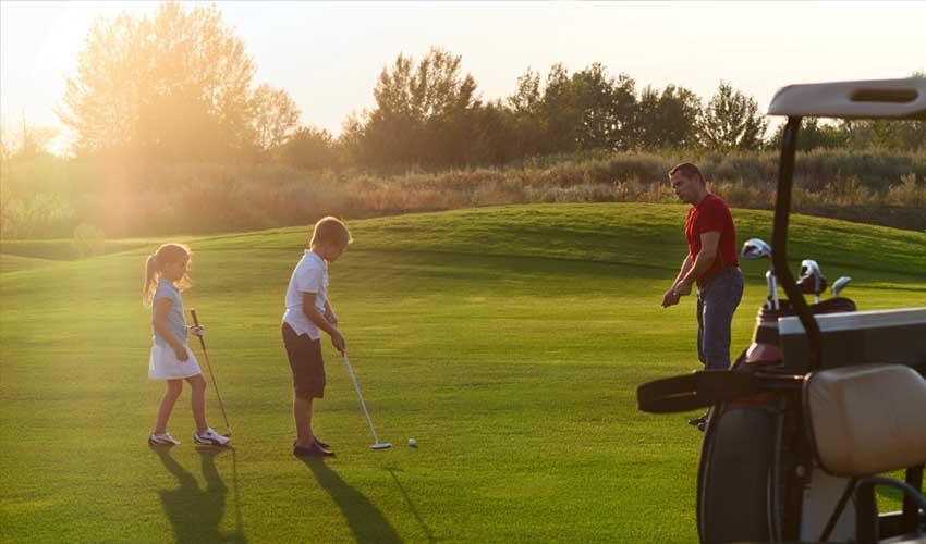 vacances golf residences lagrange golf en famille