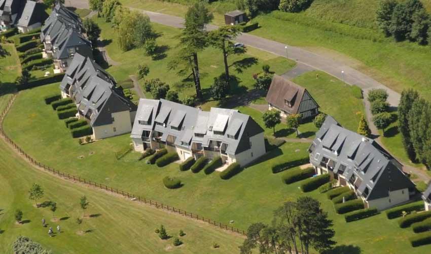 vacances golf residences lagrange vue aerienne logements