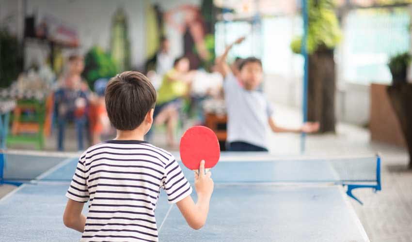 vacances lagrange partenaires hotel club l'olivier club enfant ping pong
