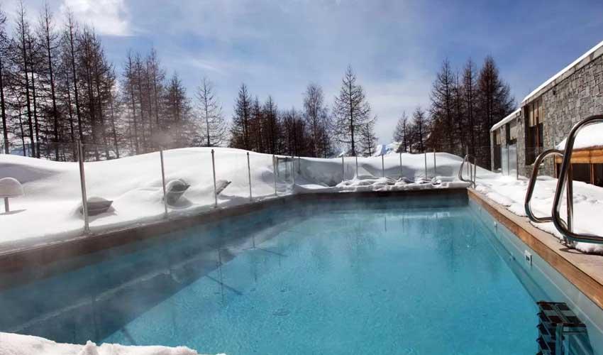 vacances lagrange residences spa l'alpenrose piscine chauffee