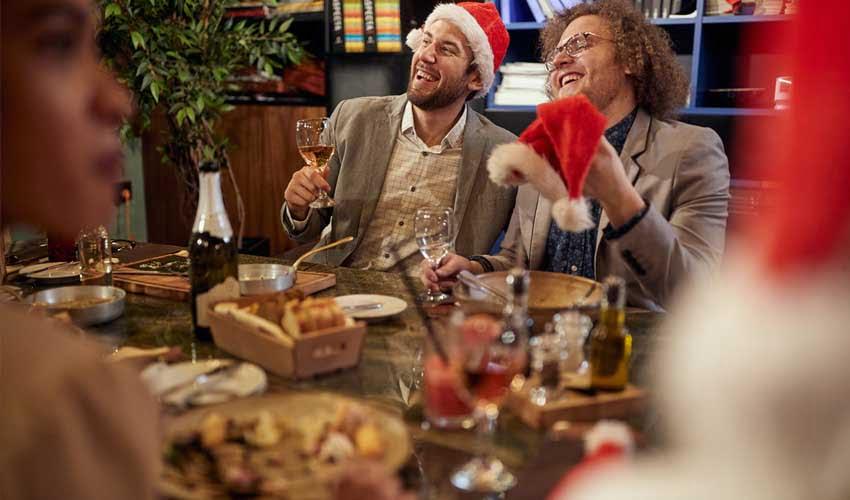 Repas de Noel avec la formule pension complete en village Pierre & Vacances