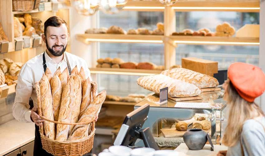 Boulangerie en camping Tohapi : du pain frais