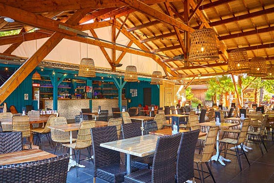 Camping club Tohapi Mayotte Vacances : Restauration