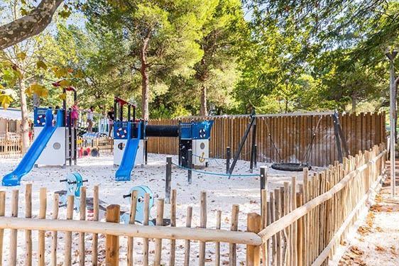 Camping-village Homair La Marina de Canet - Les Peupliers : Espaces enfants