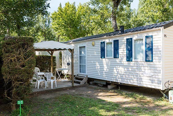Camping-village Homair La Marina de Canet - Les Peupliers : Chambres