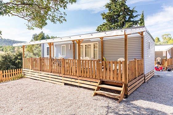 Camping-village Homair Le Domaines des Naïades : Chambres