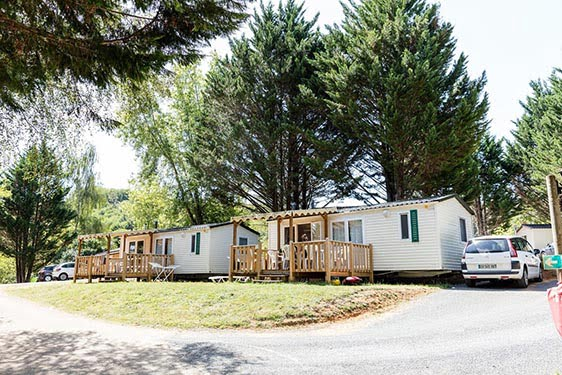 Camping-village Homair Le Val d'Ussel : Chambres