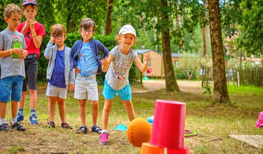 campings famille tohapi club enfants jeux