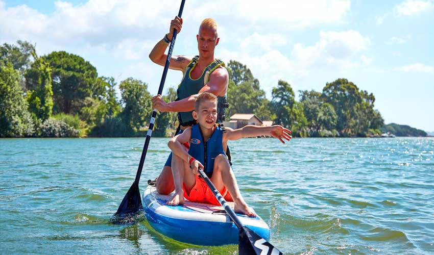 campings famille tohapi paddle